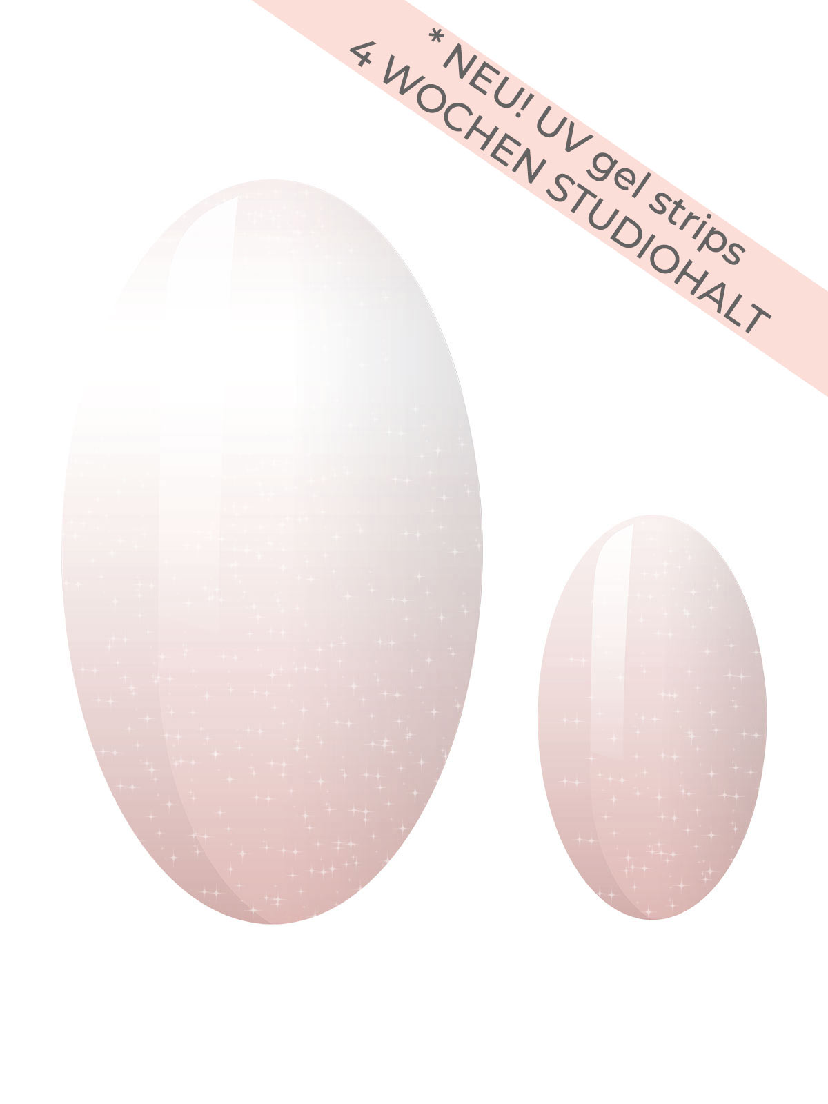 SHIMMERY glitter UV GELFOLIEN