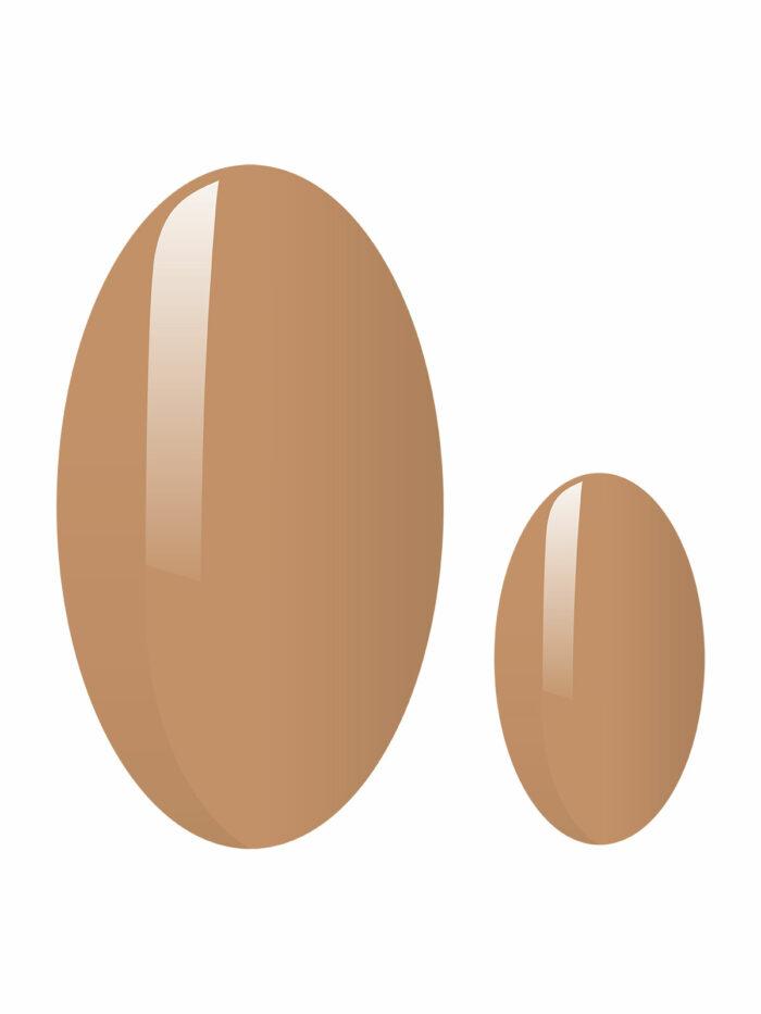 discret nude nagelfolien